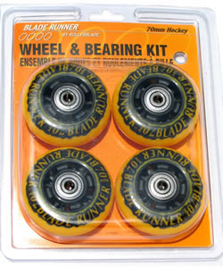 wheel & bearing kit - orange