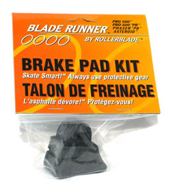 Rollerblade brake pad kit -  for Pro 500, Pro 600 PB, Phaser PB, Asteoid
